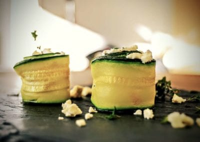 Zucchini Röllchen Rezept