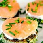 Brokkoli Lachs Fingerfood
