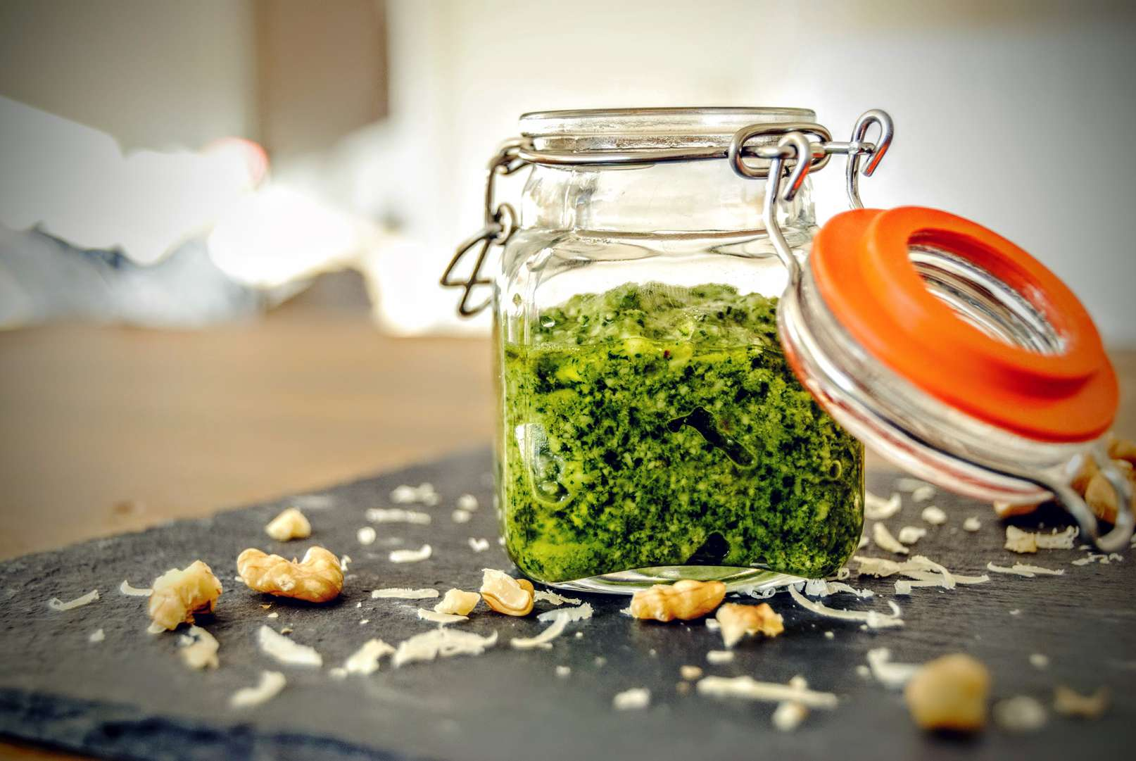 rezept low carb rucola walnuss pesto choose your level. Black Bedroom Furniture Sets. Home Design Ideas
