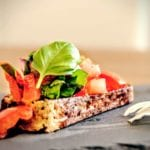 low carb brot bruschetta