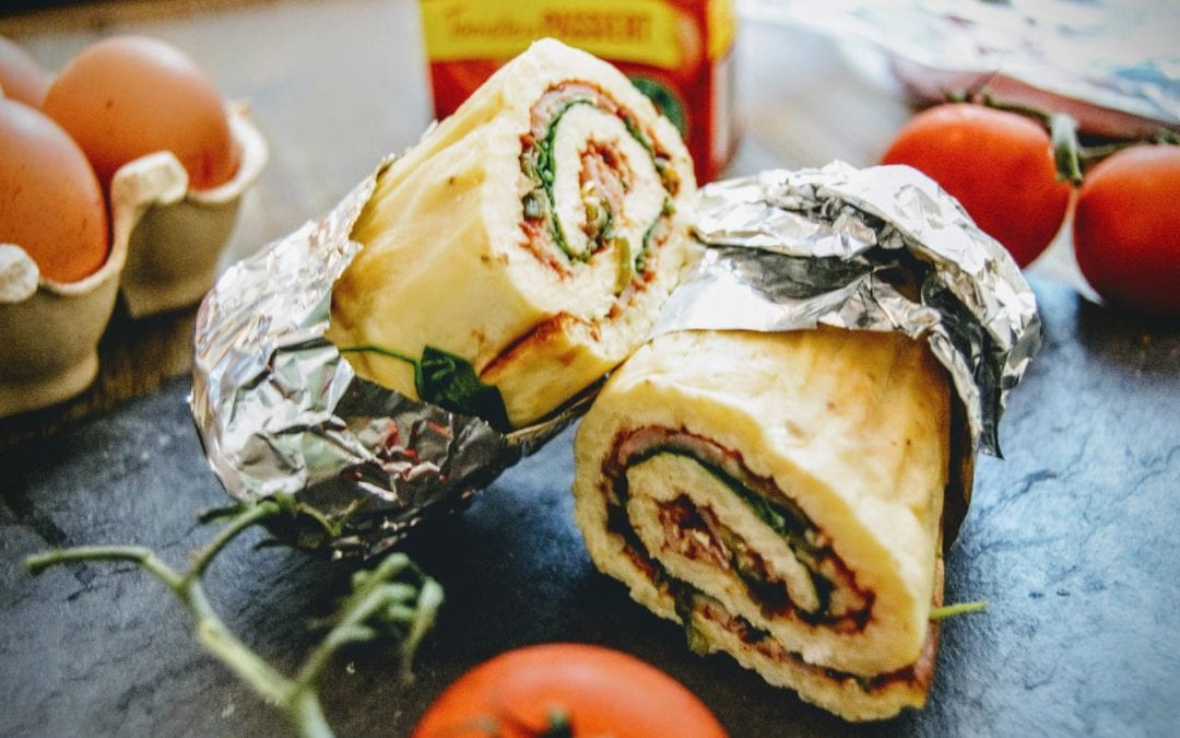 Low Carb Wraps ohne Mehl