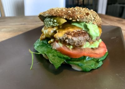 Low Carb Burger ohne Kohlenhydrate