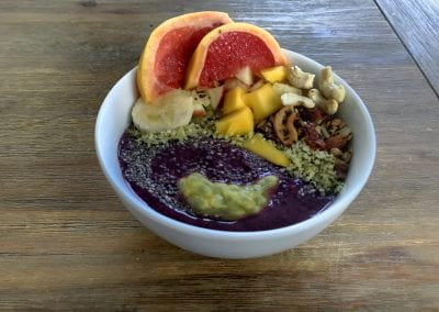 Smoothie Bowl – Heidelbeer