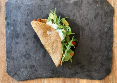 rezept low carb wraps