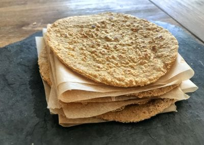 Low Carb Tortilla Teig